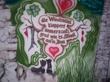 Windmühle Spruch